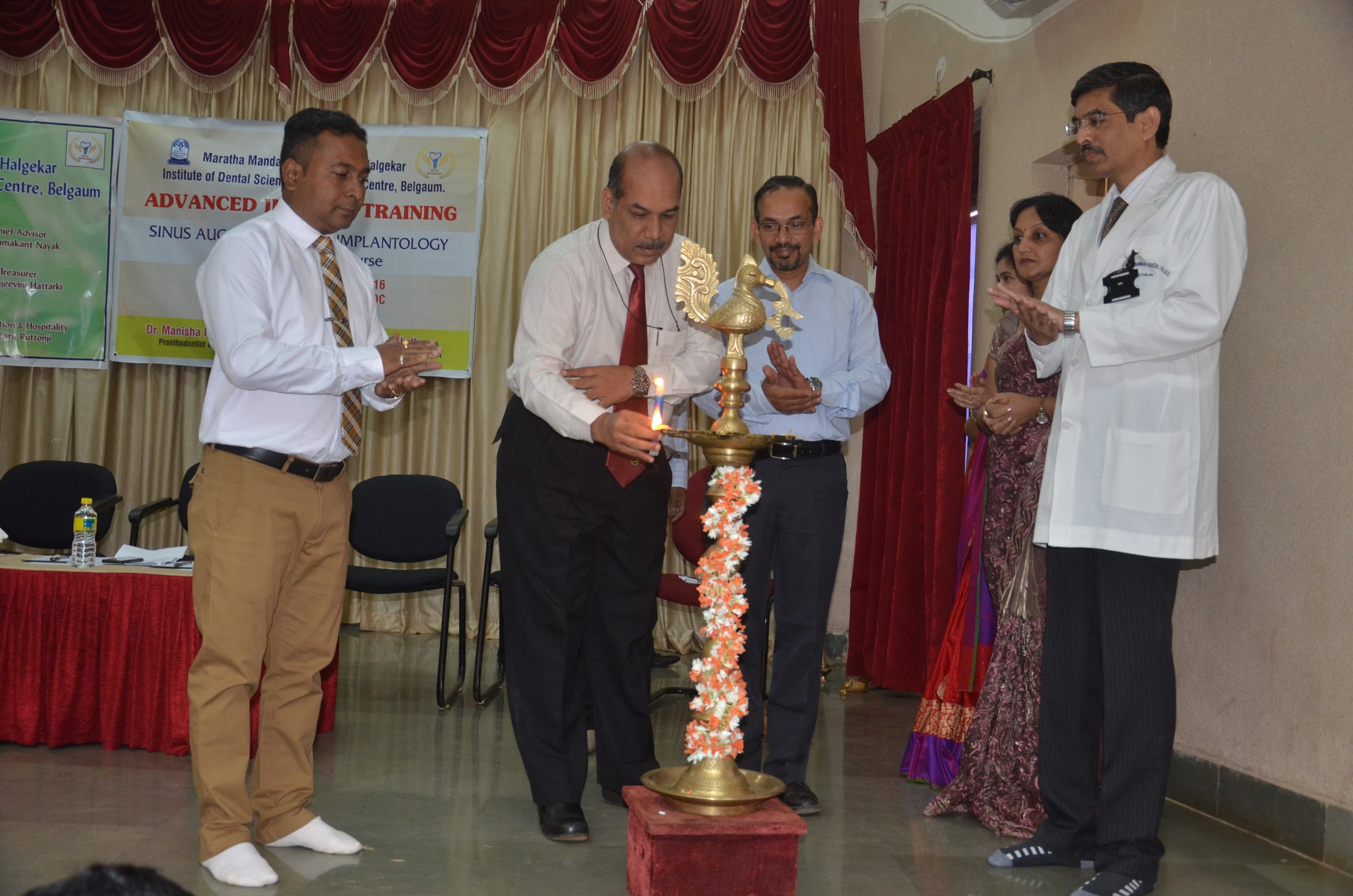 Inaugural ceremony Chief Guest Dr Ramesh Nadiger